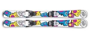 Dětské lyže Sporten Teddy Bear + Tyrolia SL 45