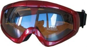 Dětské Lyžařské brýle Cortini Snowflake červené