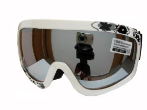 Dětské lyžařské brýle Spheric Minnesota bílé