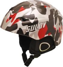 Lyžařská přilba SULOV REVOLT In-mold, maskáč