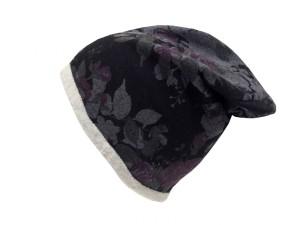 Zimní rasta čepice Hat You černá