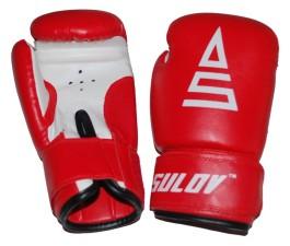 Box rukavice Sulov PVC červeno-bílé