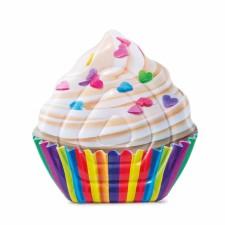 Nafukovací lehátko Intex Cupcake 142x135cm