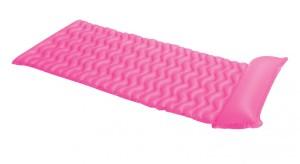 Nafukovací lehátko Intex Tote-n-Float růžové 229x86cm