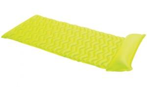 Nafukovací lehátko INTEX Tote-n-Float zelené 229x86cm