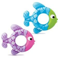 Kruh plavecký Intex Swim Along Fish 77x76cm