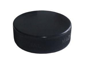Hokejový puk Official černý
