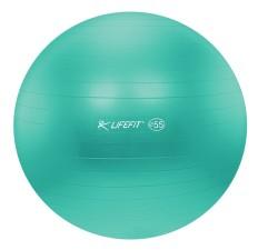 Gymnastický míč Lifefit Anti-Burst 55cm tyrkysový