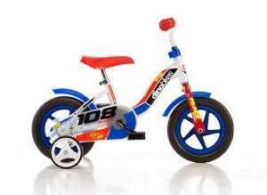 Dětské kolo Dino 108L modrá 10
