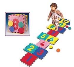 Pěnová podložka puzzle Spartan 1724 30x30 cm