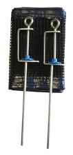 Držák se síťkou na stolní tenis Acra G1851
