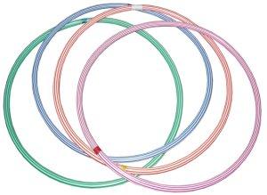 Gymnastický kruh Acra 50cm