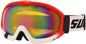 Lyžařské brýle Sulov Free dvojsklo červené