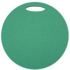 Sedátko kulaté Yate 2 vrstvé, průměr 35 cm, zeleno/černá