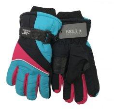 Dětské zimní rukavice Bella Accessori 9009-5 světle modrá