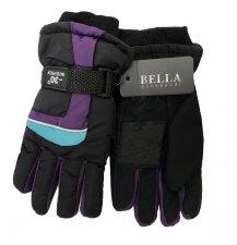 Dětské zimní rukavice Bella Accessori 9012S-5 fialová