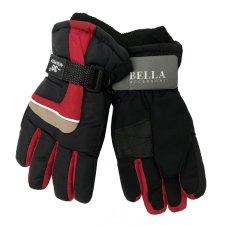 Dětské zimní rukavice Bella Accessori 9012S-3 červená