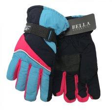 Dětské zimní rukavice Bella Accessori 9011S-5 světle modrá
