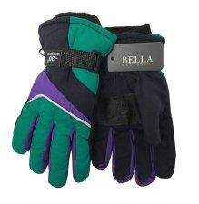 Dětské zimní rukavice Bella Accessori 9011S-4 zelená