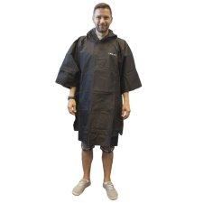 Pláštěnka pončo Trekmates Essential Poncho černá
