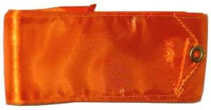 Gymnastická stuha Junior 4m oranžová