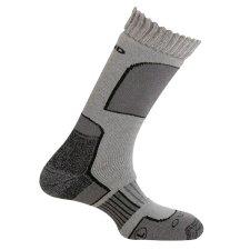 Trekingové ponožky Mund Aconcagua šedé
