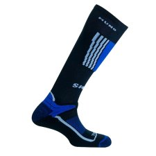 Lyžařské ponožky Mund Snowboard tm.modré