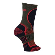 Trekingové ponožky Mund Explorer Kids khaki/černé