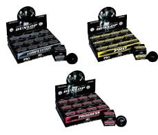 Squashový míč Dunlop Competition XT