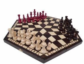 Šachy pro 3 hráče - střední