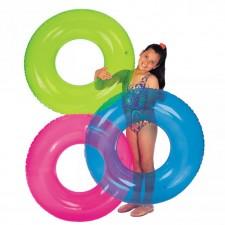Plavací kruh Intex Joola barevný 76cm