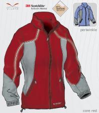 Dámská sportovní bunda Hi-Tec Musca - červená